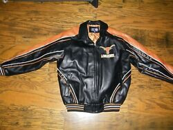 G-lll University Of Texas Longhorns Mens L Full Zip Embroidered Jacket
