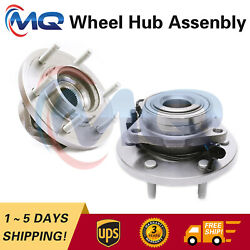 Pair Front Wheel Hub Bearing Assembly For 2006 2007 2008 2009 Hummer H3 515093