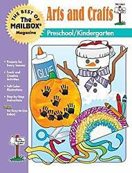 Best Of The Mailbox Arts And Crafts Hardcover Karen A. Brudnak