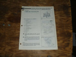 Yanmar Rollover Protective Struct Rops Ym146 Tractor Operator Maintenance Manual