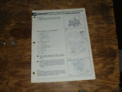 Yanmar Rollover Protective Struct Rops Gt14 Tractor Operator Maintenance Manual