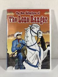 The New Adventures Of The Lone Ranger Sealed New Dvd Animated Cartoon