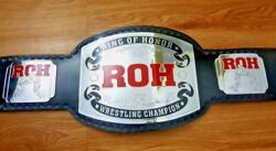 Roh Ring Of Honor Wrestling Championship Belt Adult Size
