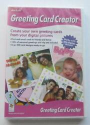 Arcsoft Greeting Card Creator For Windows Cd Software From Digital Pictures