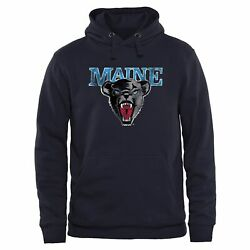 Maine Black Bears Classic Primary Pullover Hoodie - Navy