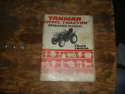 Yanmar Ym165 And Ym165d Tractor Owner Operator Maintenance Manual User Guide