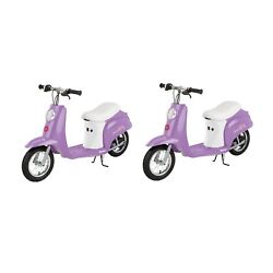 Razor Pocket Mod Euro 24v Electric Scooter Guaranteed 2-day Delivery