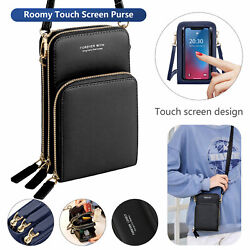 Crossbody Phone Purse Touch Screen Bag RFID Blocking Wallet Shoulder Strap Women $20.98