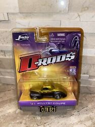 Jada Toys 2006 D-rods 41 Willys Coupe Wave 2 Gold 164