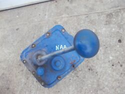 Ford Naa Tractor Transmission Cover Panel W/ Gear Shifter And Starter Button