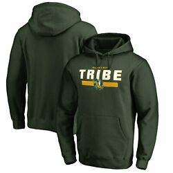 William And Mary Tribe Team Strong Pullover Hoodie - Green