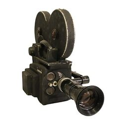 Mid Century Auricon Cm-72a 16mm Motion Picture Tv News Camera