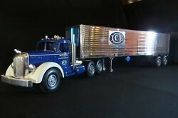 New Orginial Smith Miller Union Ice Tractor And Trailer One Of A Kind