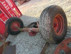 International Harvester Ih 1066 Tractor Wide Fronted W/ Tires Rims And Ps Cylinder