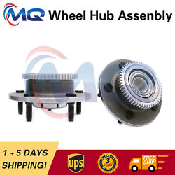Rwd 2 Front Wheel Bearing And Hub Assembly For 2000-2001 Dodge Ram 1500 515084