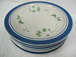Ll Bean Blueberry Salad Lunch Plates 7 8 3/4