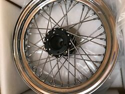 Vintage 1947 - 1953 Indian Chief 16 Replica Wheel Front Or Rear New
