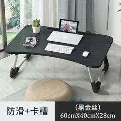 Laptop Tray Lap Desk Cushioned Portable Computer Reading Writing Table Sofa Bed