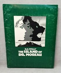 1977 H.g. Wells The Island Of Dr. Moreau Movie Press Kit.
