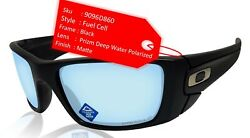 Fuel Cell Black Prizm Deep Water Polarized Lens Sunglasses 0oo9096