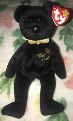 1999 The End Bear With Rare Errors Read Description Ty Beanie Baby
