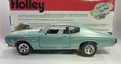 Ertl / Holley 1/18 Scale 1970 Chevy Chevelle Ss Very Detailed