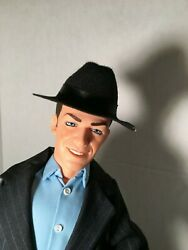 Frank Sinatra Movie Greats Doll By World Doll 18 With Hat And Tag Used