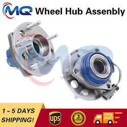 2new Front Wheel Hub Bearing Assembly For Buick Chevy Oldsmobile Pontiac 513087
