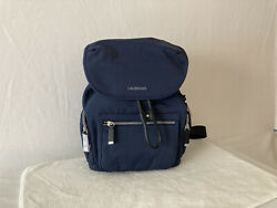 Calvin Klein Kimberly Nylon Backpack Navy $50.00