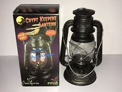 Tales From The Crypt Lantern Prop Signed By Crypt Keeper Voice Actor John Kassir