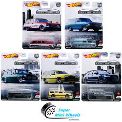 Hot Wheels Premium 2021 Car Culture B Case Fast Wagons Set Of 5 Cars [in-stock]
