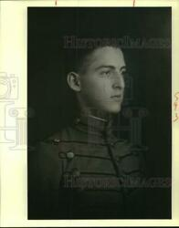 1988 Press Photo Louis G. Lange As A Young Man Between The Years Of 1915-17