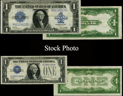 1923 And 1928 1 Silver Certificate 2 Piece Set Andldquochanging Timesandrdquo