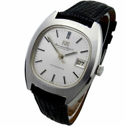 Vintage Stainless Steel Automatic Wristwatch