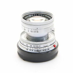 Leica Summicron M50mm F/2 Collapsible 207
