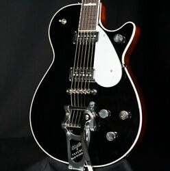 Gretsch G6128tds Players Edition Jet Black Guitar Dynasonic W/bigsby In Stock