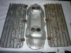 Edmunds Racing Ford Flathead V8 -60hp Aluminum Intake 2x2 And Heads