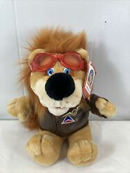 Delta Airlines Dusty The Air Lion With Delta Pin Vintage Plush 1995 Flyer Club