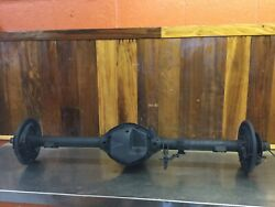 Triumph Tr2 - Tr4 Andbull Rear End Assembly W/ Axles Differential 10/37.  T2040