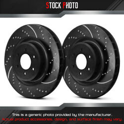 Ebc Brakes Dimpled And Slotted Vented 1-piece F Brake Rotors For 64-79 Mg Midget