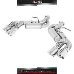 Mbrp Installer Aluminized Steel Dual Axle-back Exhaust For 16-17 Camaro