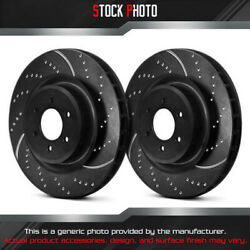 Ebc Brakes Dimpled And Slotted Vented 1-piece R Brake Rotors For 07-17 Bmw X5