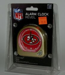 SAN FRANCISCO 49ERS SMALL ALARM CLOCK OFFICIALLY NFL LICENSED BRAND NEW