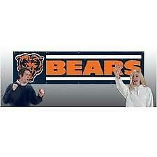 Chicago Bears Nfl 8' X 2 ' Hanging Wall Banner New In Package