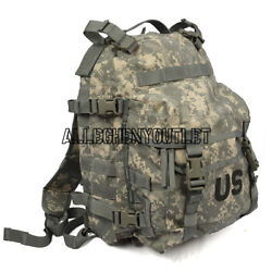 Us Military Army Acu Assault Pack 3 Day Molle Backpack W/ Stiffener And Pad Exc