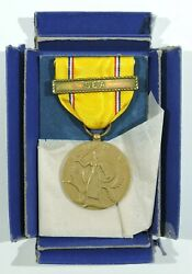 Wwii American Defense Medal With Sea Clasp