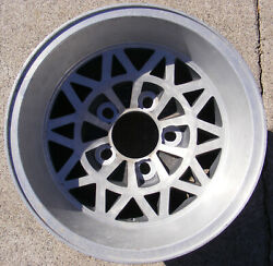 Vintage Appliance Diamag Mag Wheel Rim 14x7 Snowflake Style Nice Clean Used
