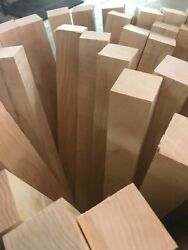 Premium 1-5/8x1-5/8 Curly Hard Maple Wood Turning Square Pool Cue Blanks S4s
