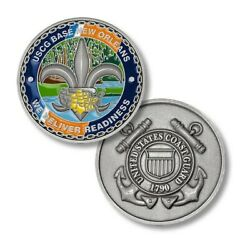 Coast Guard Base New Orleans 1.75 Challenge Coin