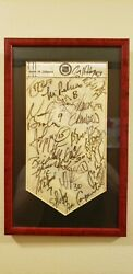 1994-1995 Stanley Cup Winning New Jersey Devils Team Autographed Team Banner